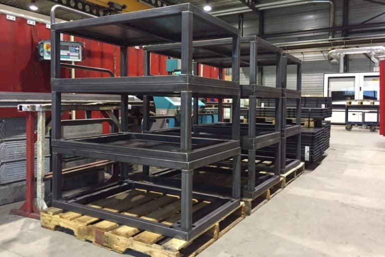 Stalen frames Metaalcenter Driessen